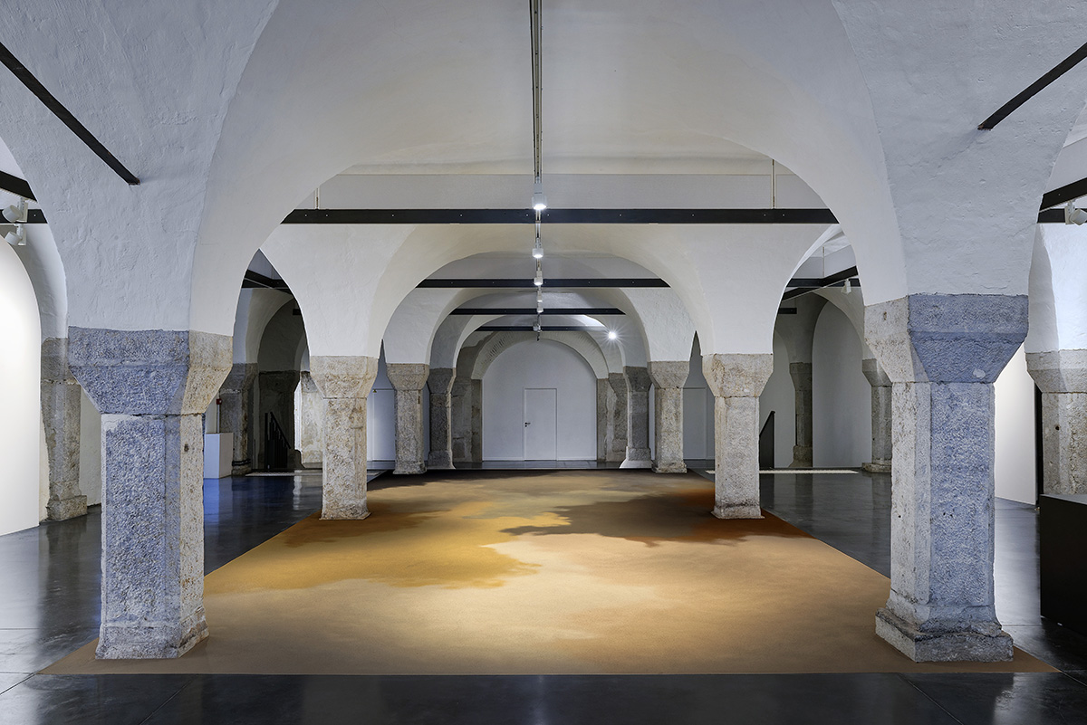 Alessandro Piangiamore_La Chair des choses_Vue exposition Blaise Adilon_La Halle des bouchers